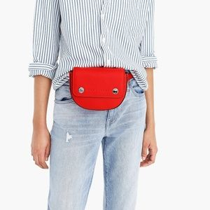 J. Crew Bags - NWT J. Crew Bristol Pebbled Leather Fanny Pack